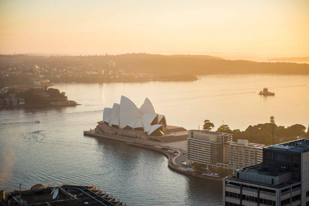 Opera House, Sydney, Sunset, Australien