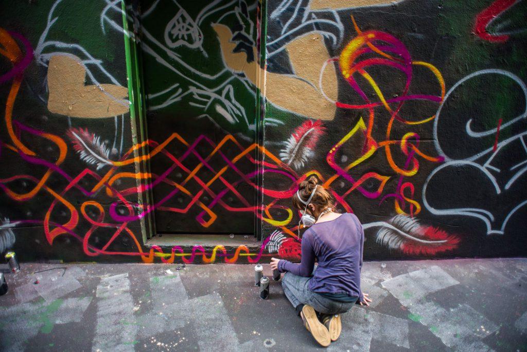 Streetart, Melbourne, Graffiti, Kunst