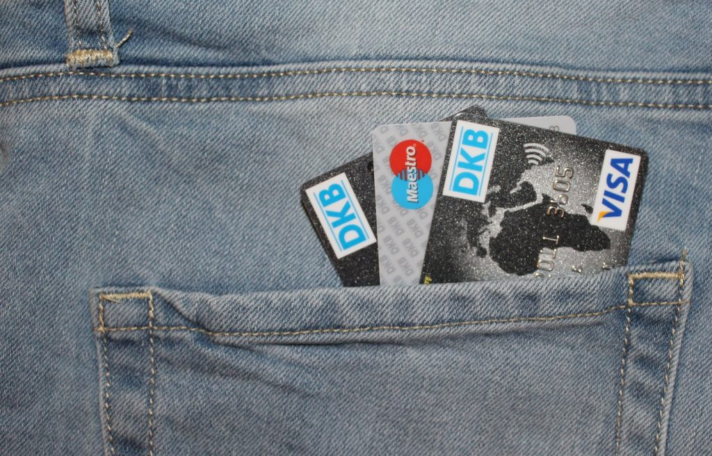 Kreditkarte, DKB, Geld