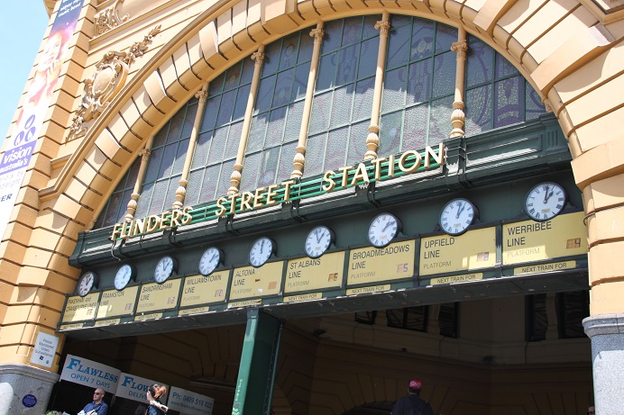 Flinders Street Station, Under the clocks, Melbourne