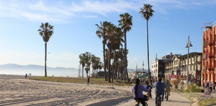 Backpacking in Venice Beach und Santa Monica